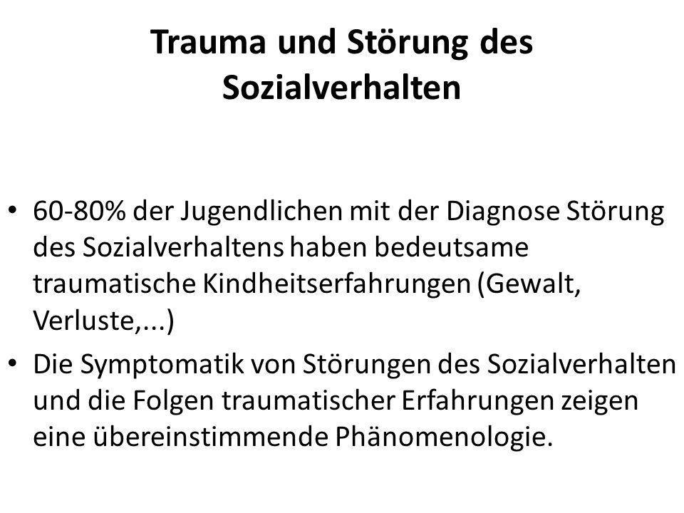 Trauma und Störung des Sozialverhalten