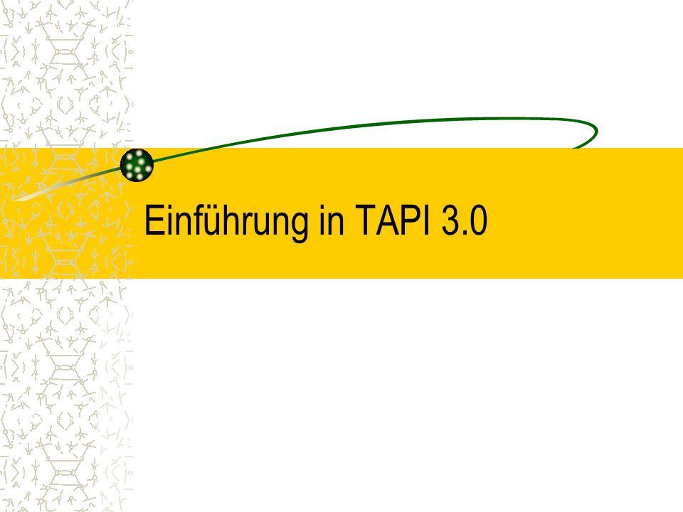 Einführung in TAPI 3.0