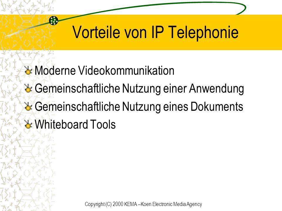 Vorteile von IP Telephonie