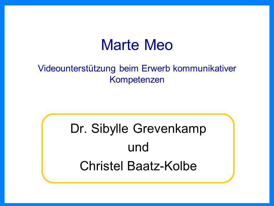Marte Meo Videounterstützung beim Erwerb kommunikativer Kompetenzen
