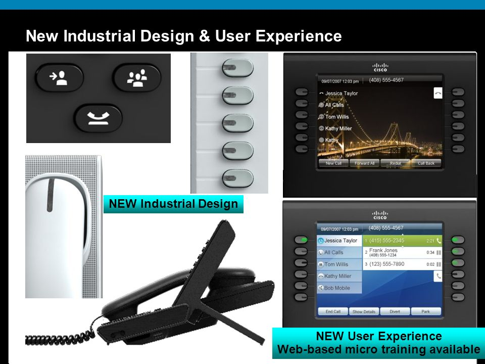 New Industrial Design & User Experience