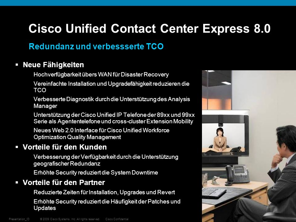 Cisco Unified Contact Center Express 8.0