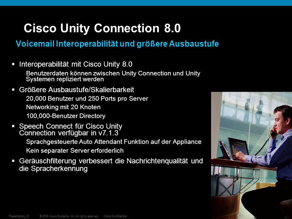 Cisco Unity Connection 8.0