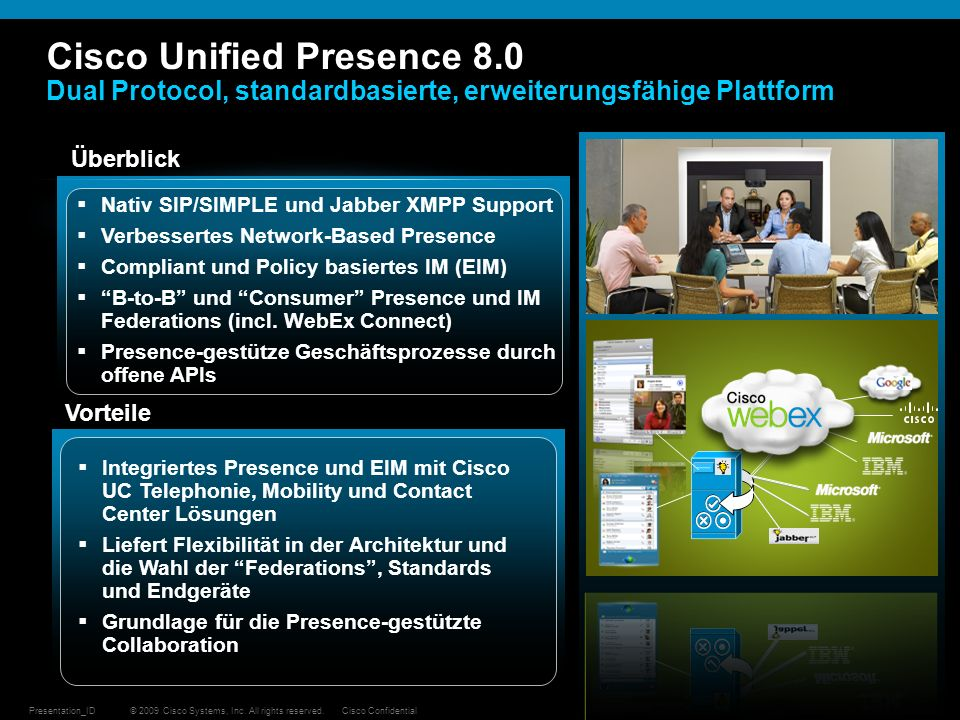 Cisco Unified Presence 8