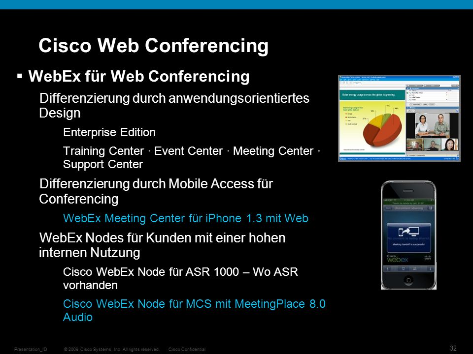 Cisco Web Conferencing