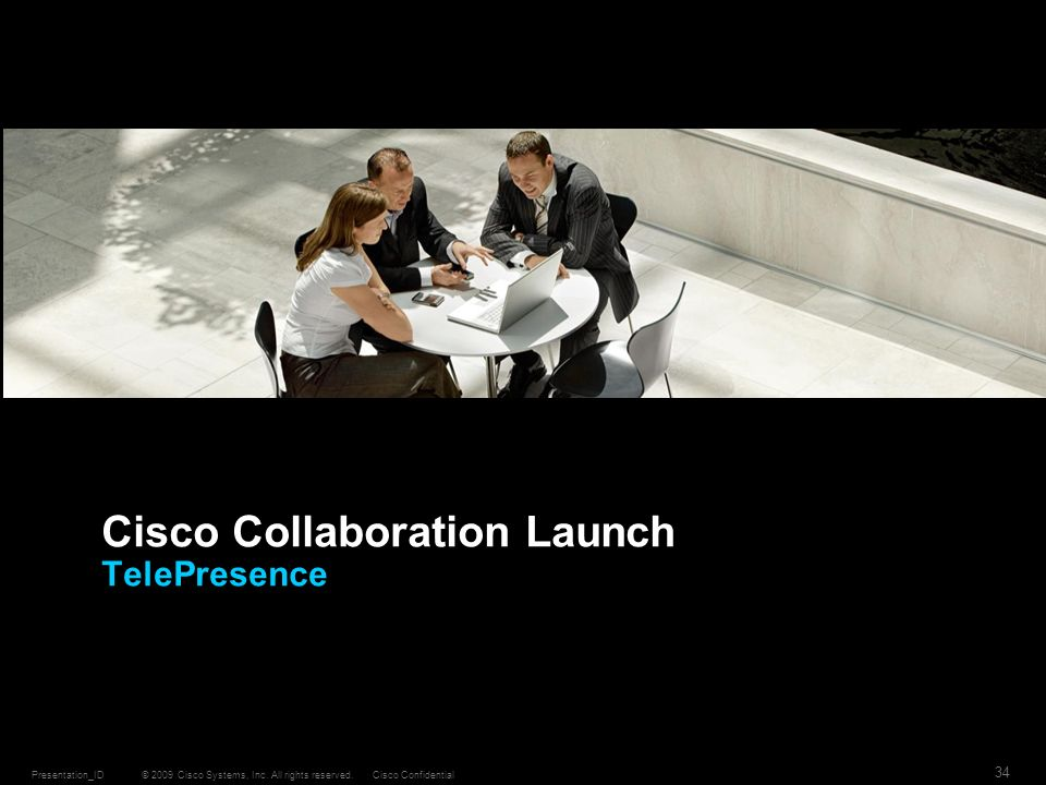 Cisco Collaboration Launch TelePresence
