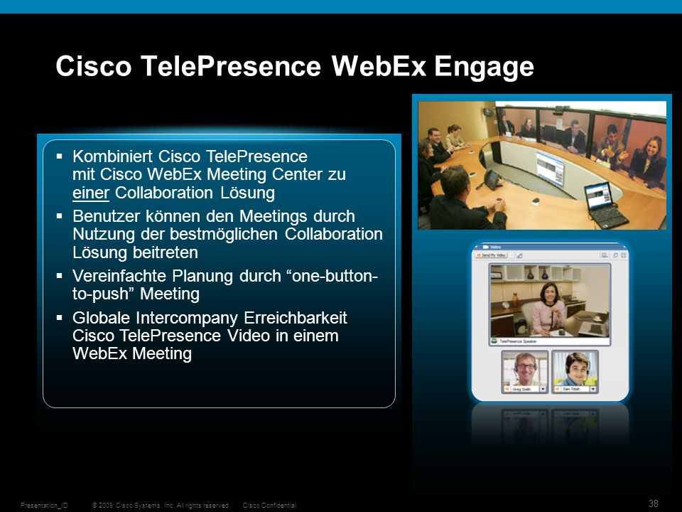 Cisco TelePresence WebEx Engage
