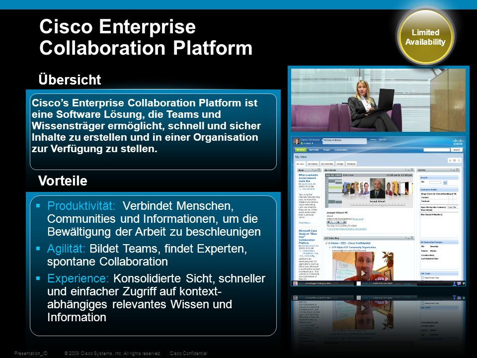 Cisco Enterprise Collaboration Platform