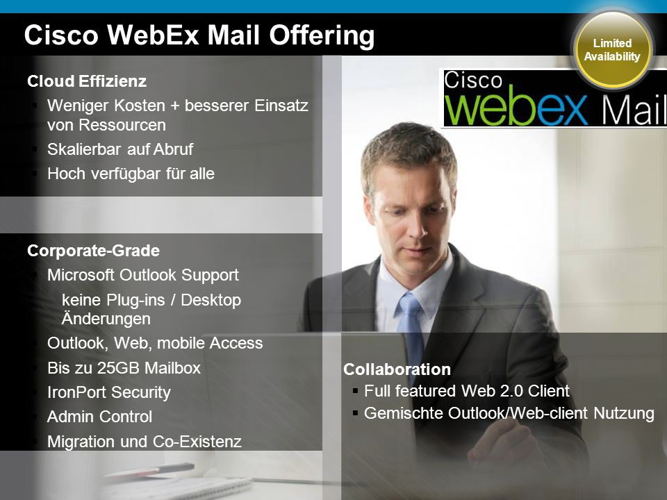 Cisco WebEx Mail Offering