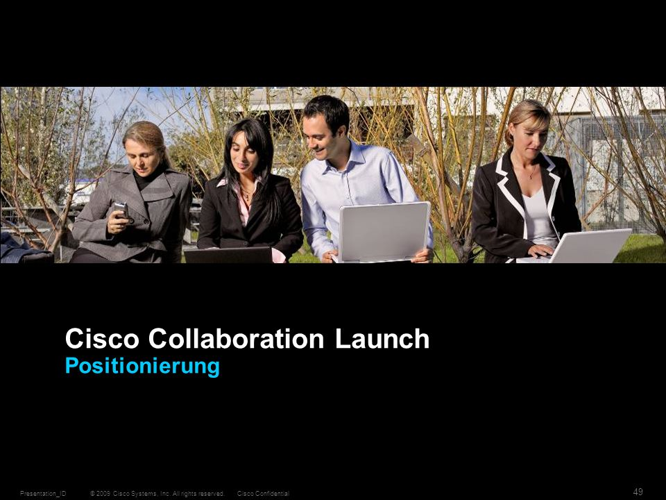 Cisco Collaboration Launch Positionierung