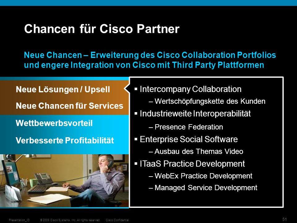 Chancen für Cisco Partner