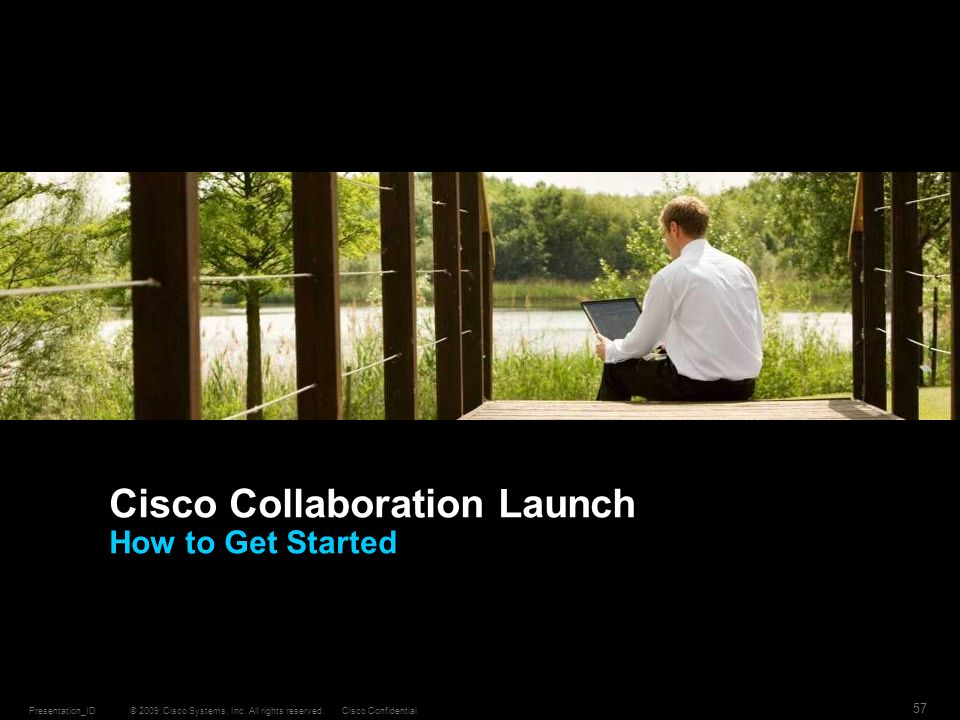 Cisco Collaboration Launch How to Get Started