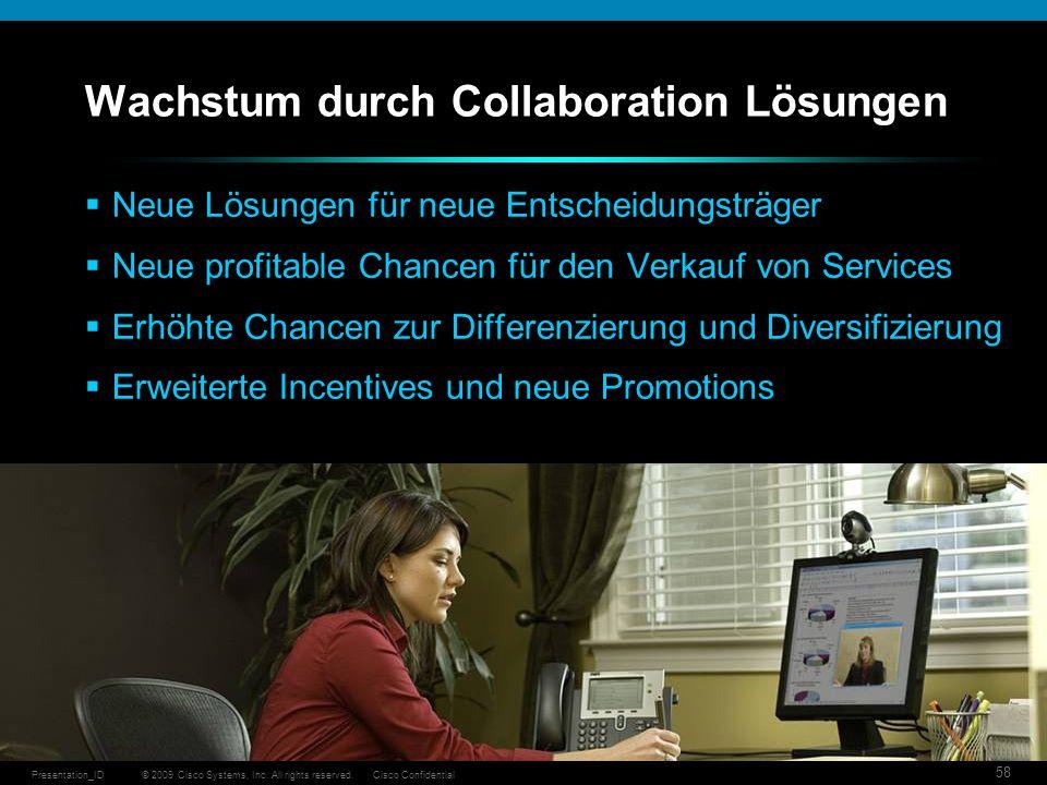 Wachstum durch Collaboration Lösungen