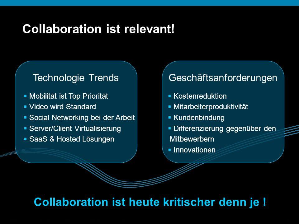 Collaboration ist heute kritischer denn je !