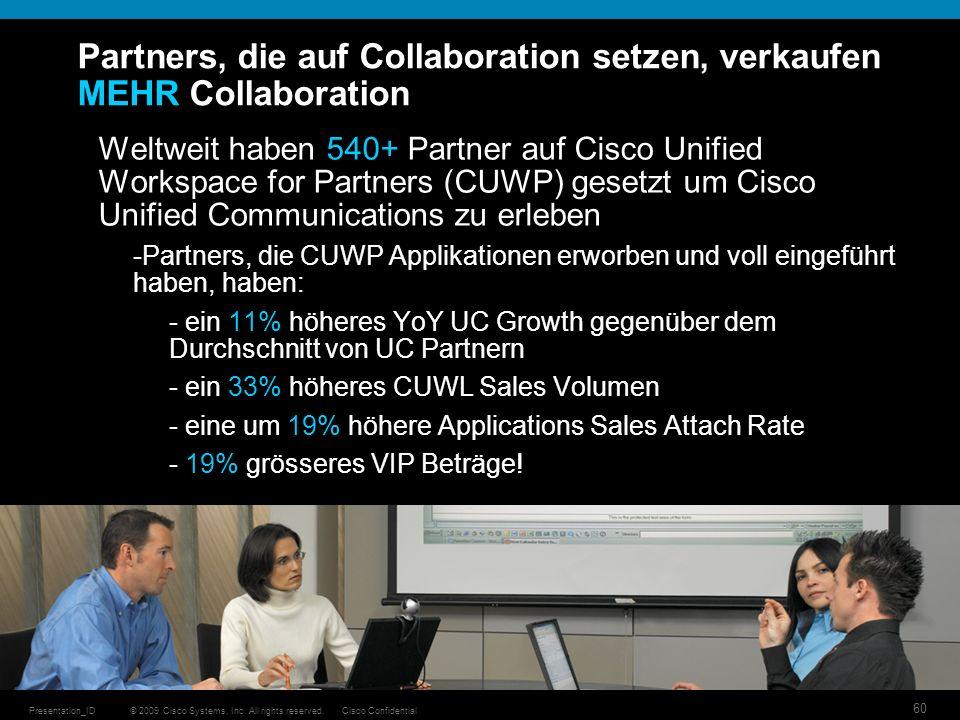 Partners, die auf Collaboration setzen, verkaufen MEHR Collaboration
