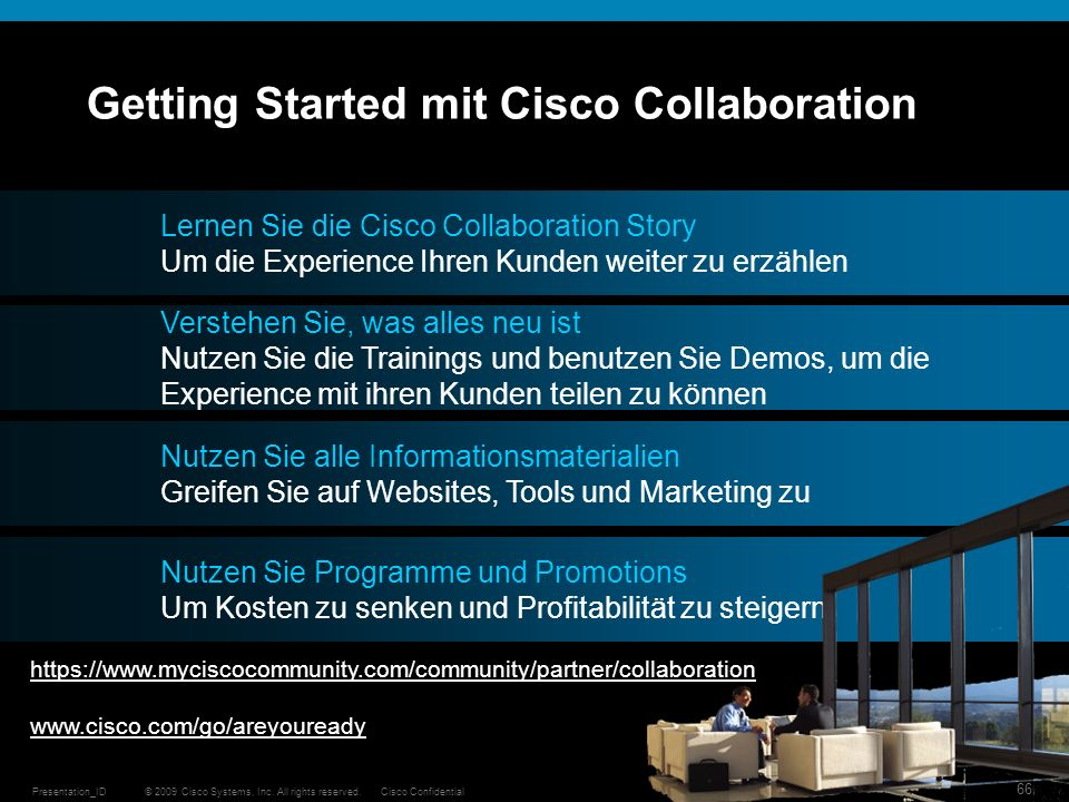 Getting Started mit Cisco Collaboration