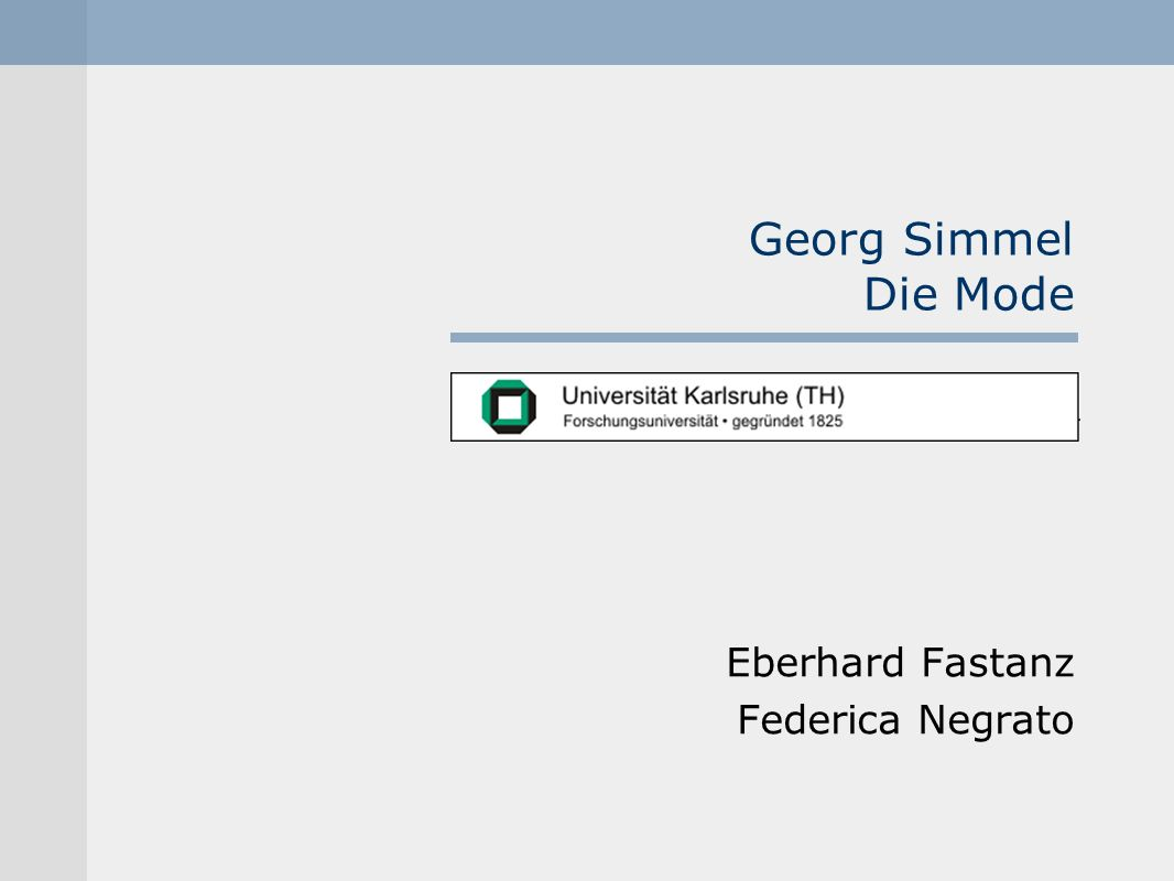 Eberhard Fastanz Federica Negrato
