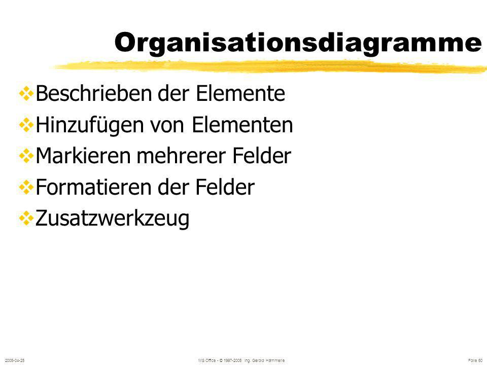 Organisationsdiagramme