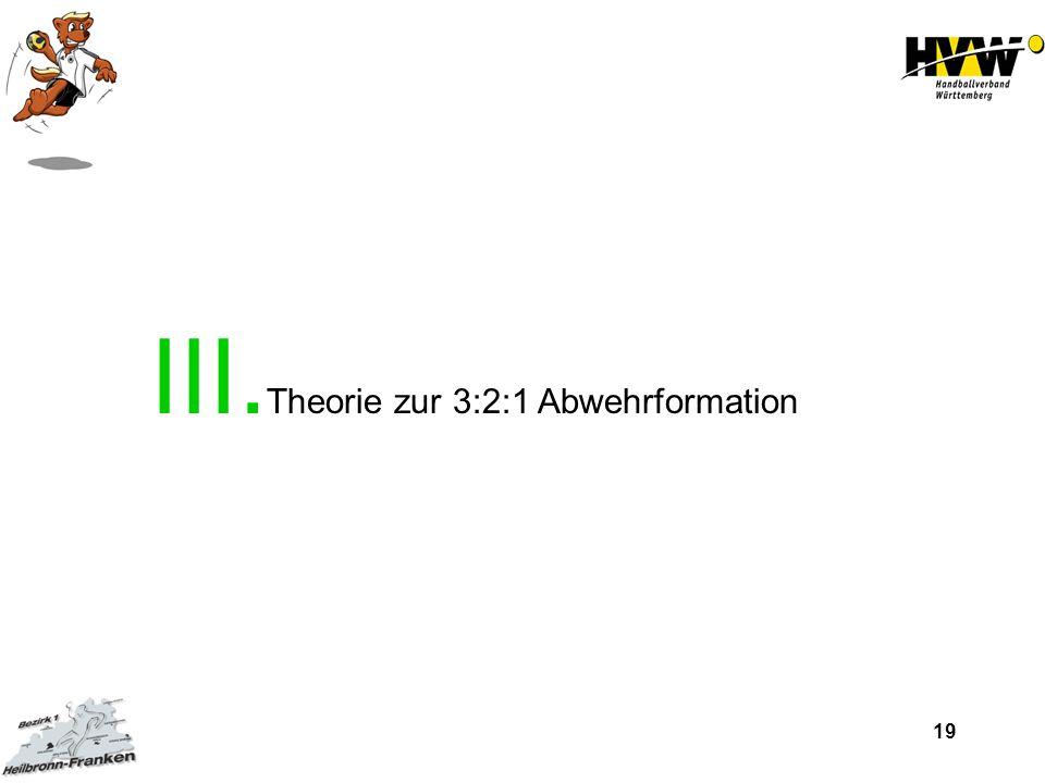 Theorie zur 3:2:1 Abwehrformation