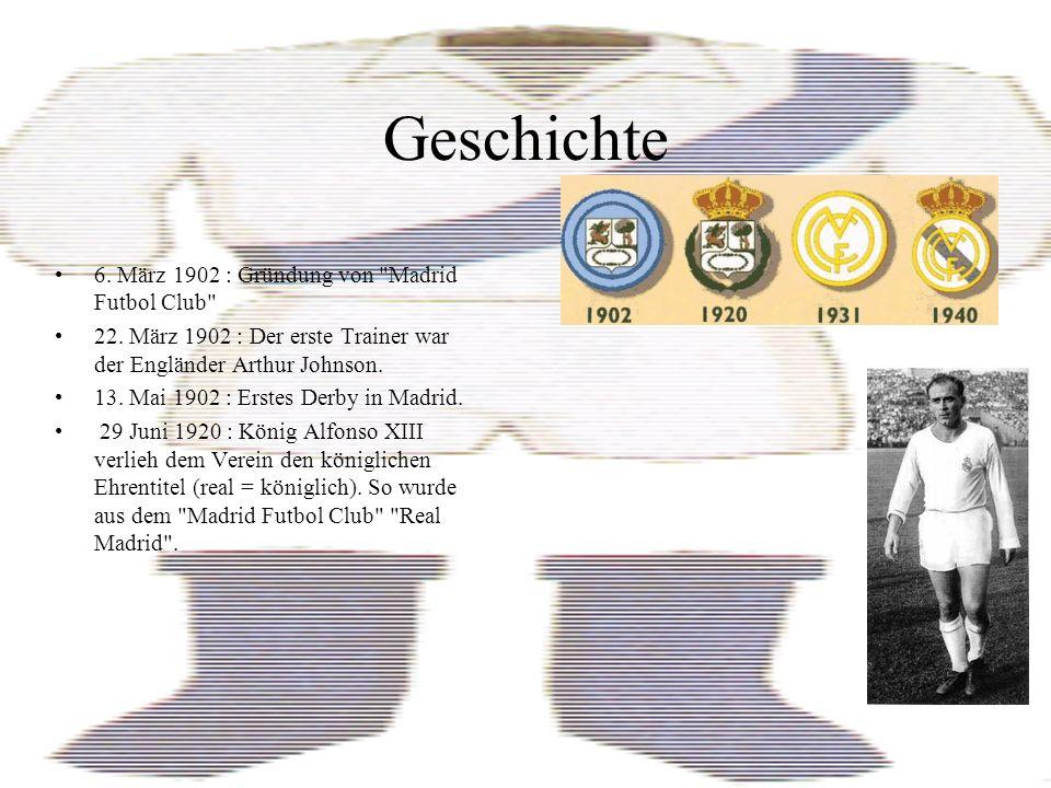 Geschichte 6. März 1902 : Gründung von Madrid Futbol Club