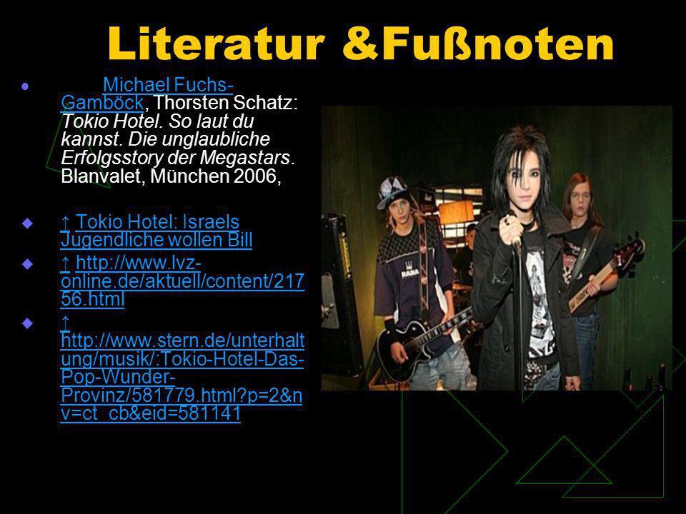 Literatur &Fußnoten