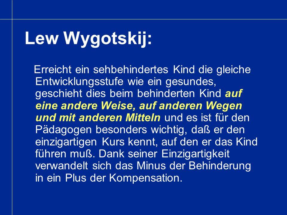 Lew Wygotskij:
