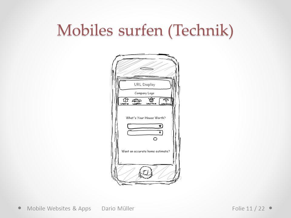 Mobiles surfen (Technik)