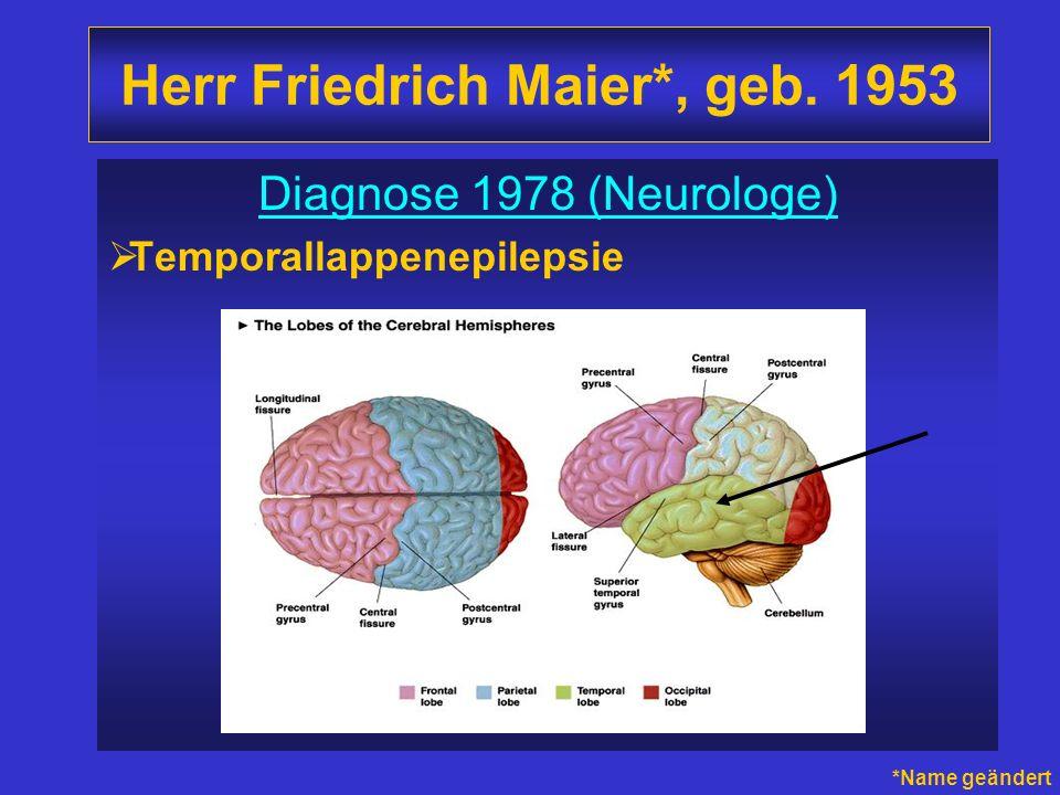 Herr Friedrich Maier*, geb. 1953