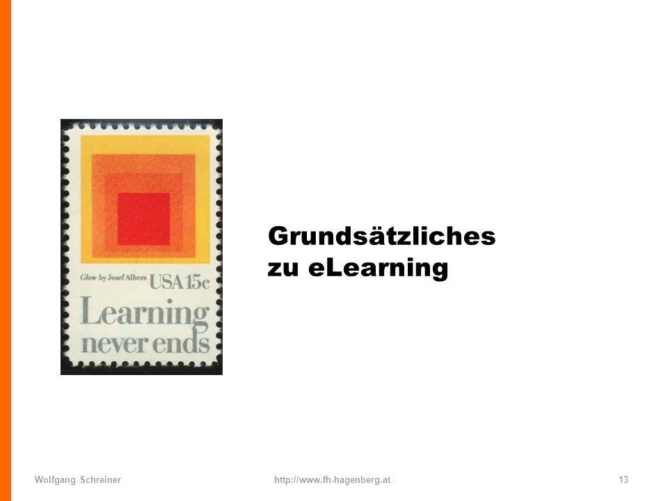 Grundsätzliches zu eLearning