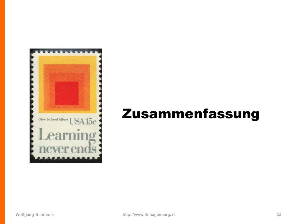 Zusammenfassung Wolfgang Schreiner http://www.fh-hagenberg.at