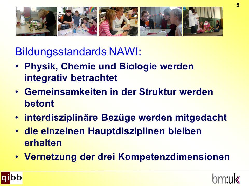 Bildungsstandards NAWI: