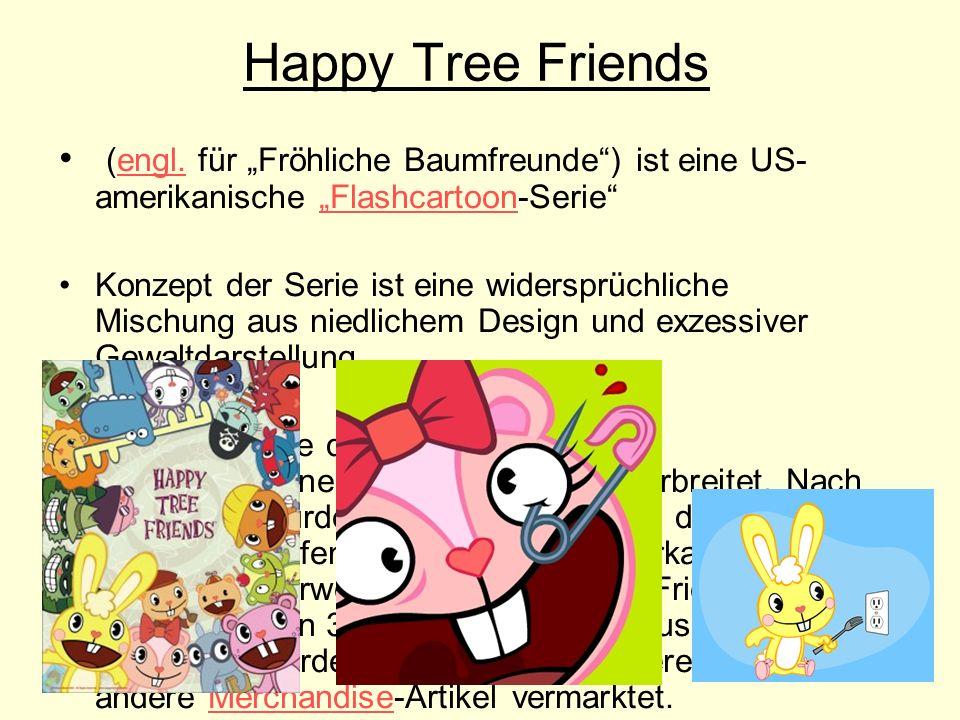 """Happy Tree Friends (engl. für """"Fröhliche Baumfreunde ) ist eine US-amerikanische """"Flashcartoon-Serie"""