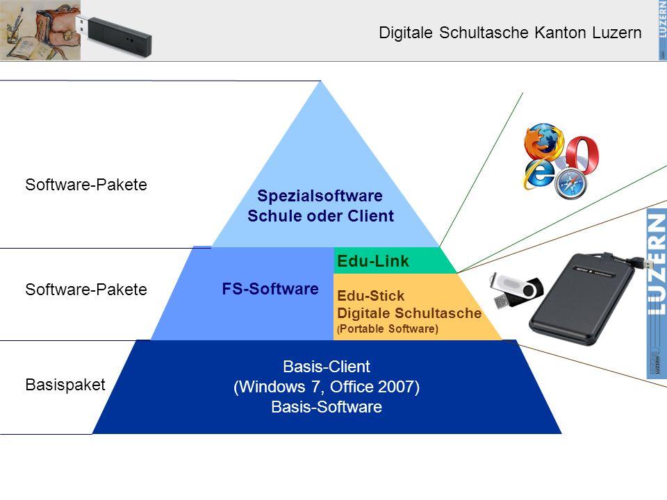 Spezialsoftware Schule oder Client