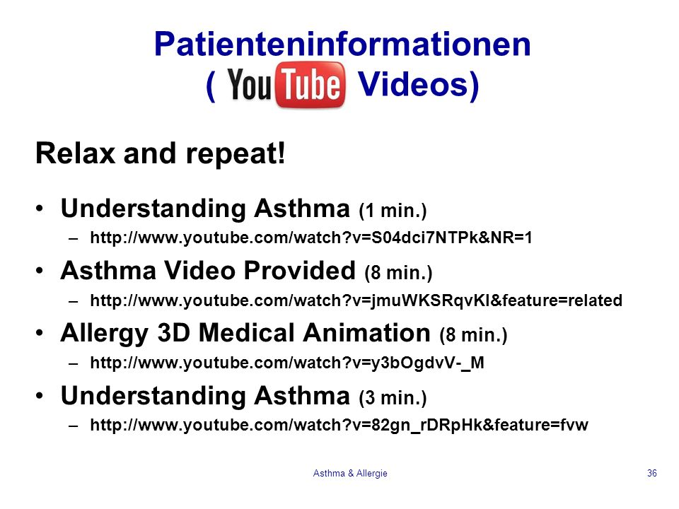 Patienteninformationen ( Videos)