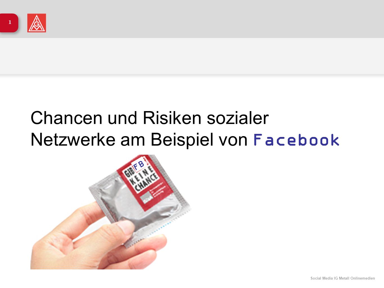 Chancen und Risiken sozialer Netzwerke am Beispiel von Facebook