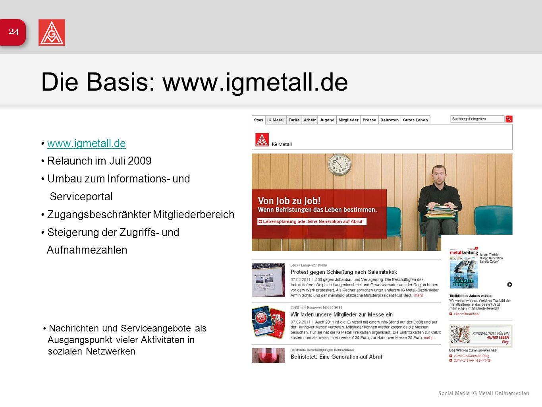 Die Basis: www.igmetall.de