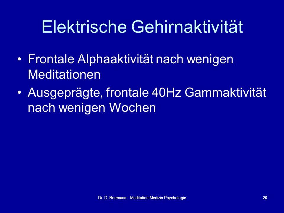 Elektrische Gehirnaktivität