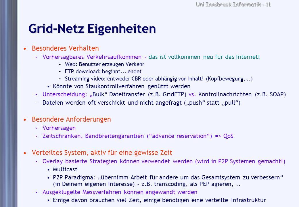 Grid-Netz Eigenheiten