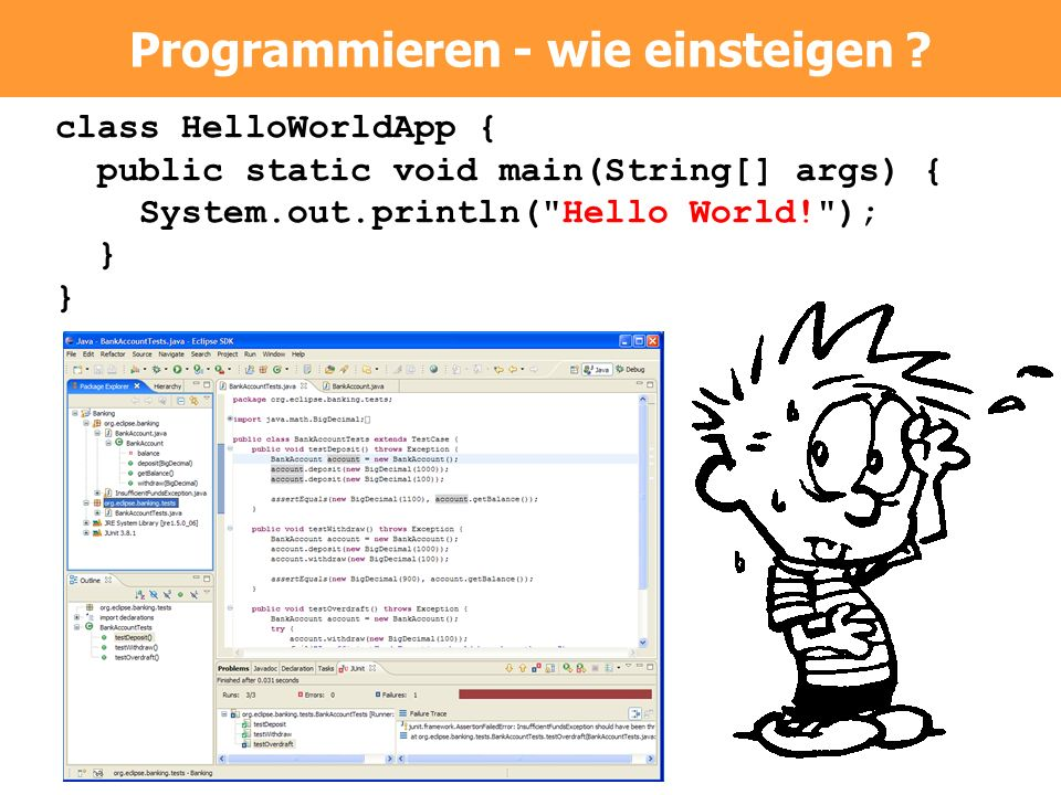 Programmieren - wie einsteigen