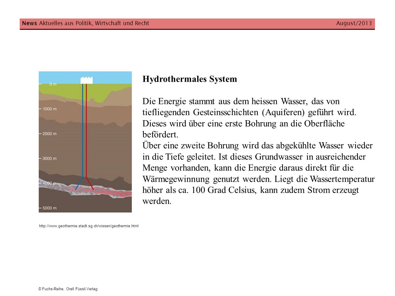 Hydrothermales System