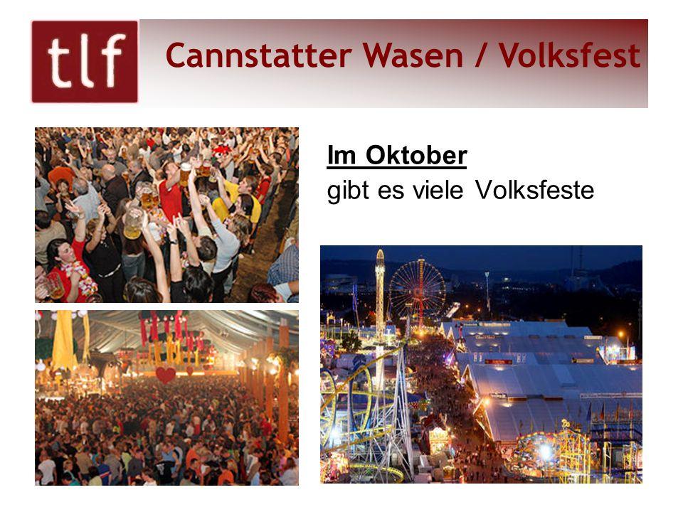 Cannstatter Wasen / Volksfest