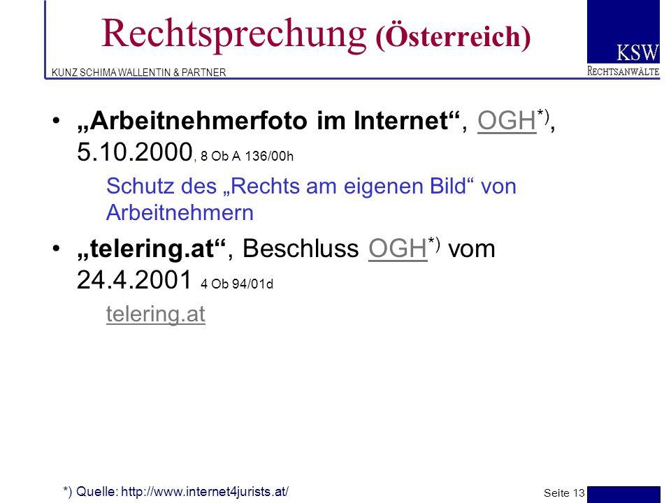 Rechtsprechung (Österreich)