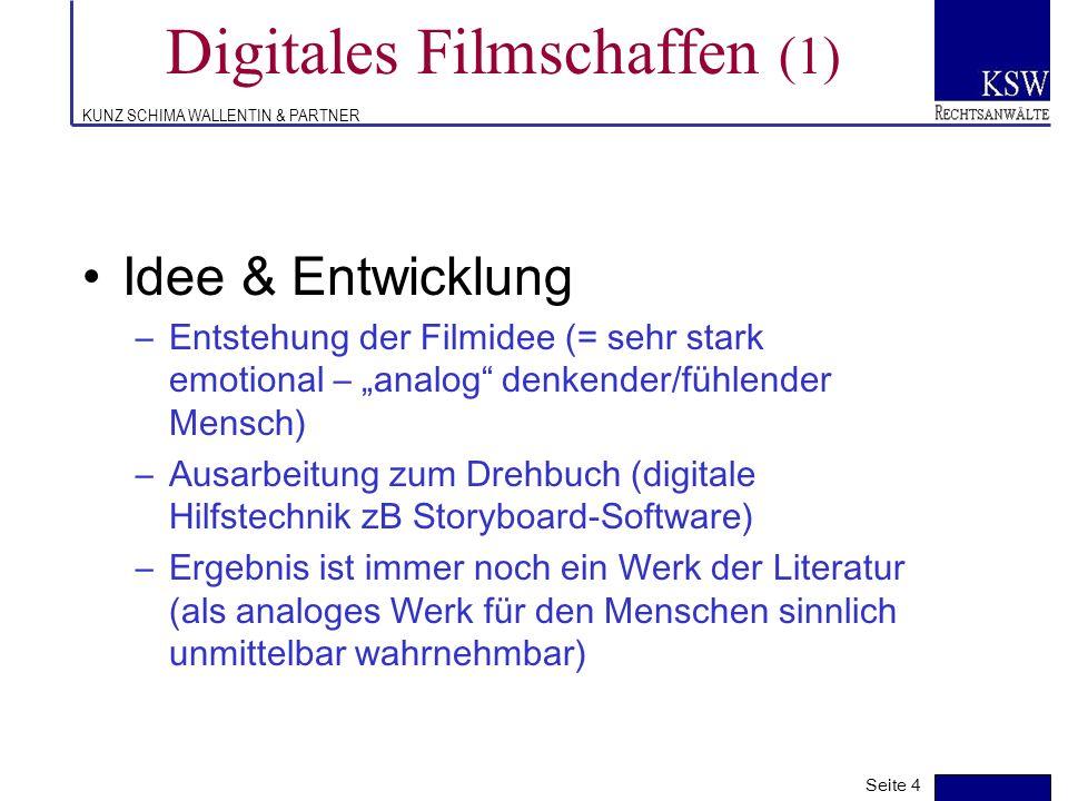 Digitales Filmschaffen (1)