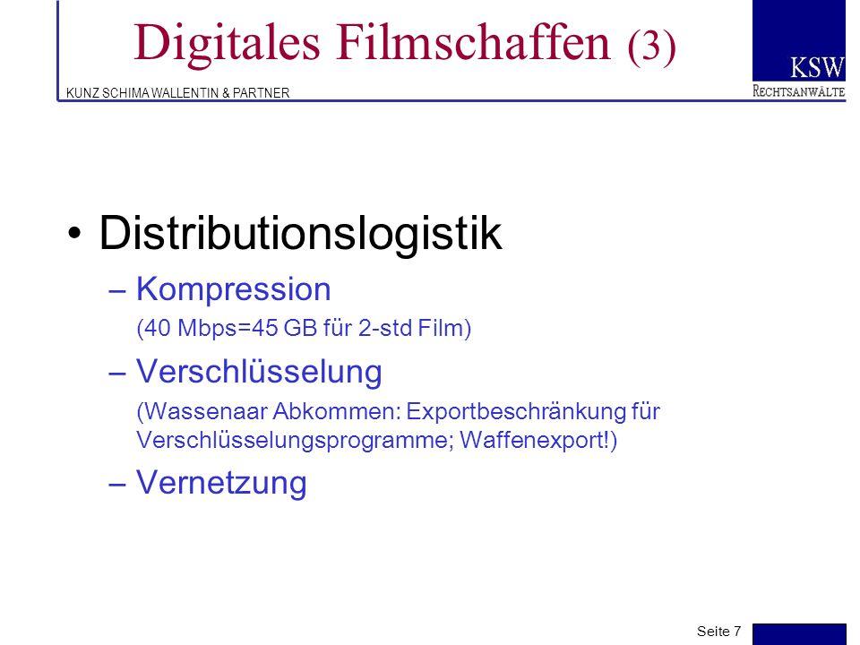 Digitales Filmschaffen (3)