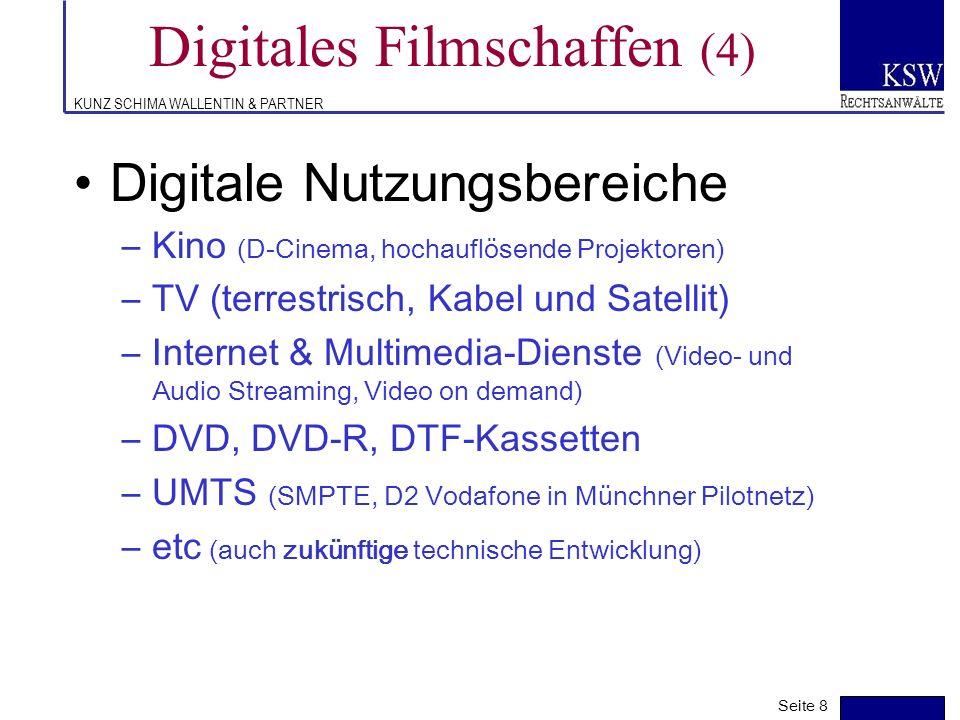 Digitales Filmschaffen (4)