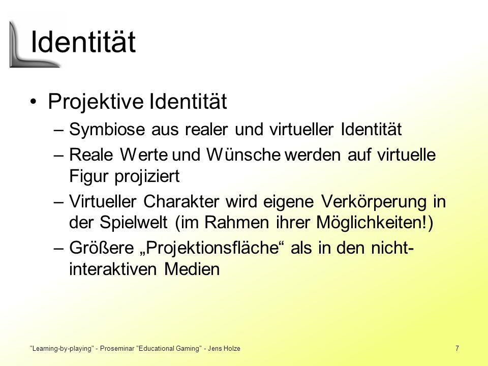 Identität Projektive Identität