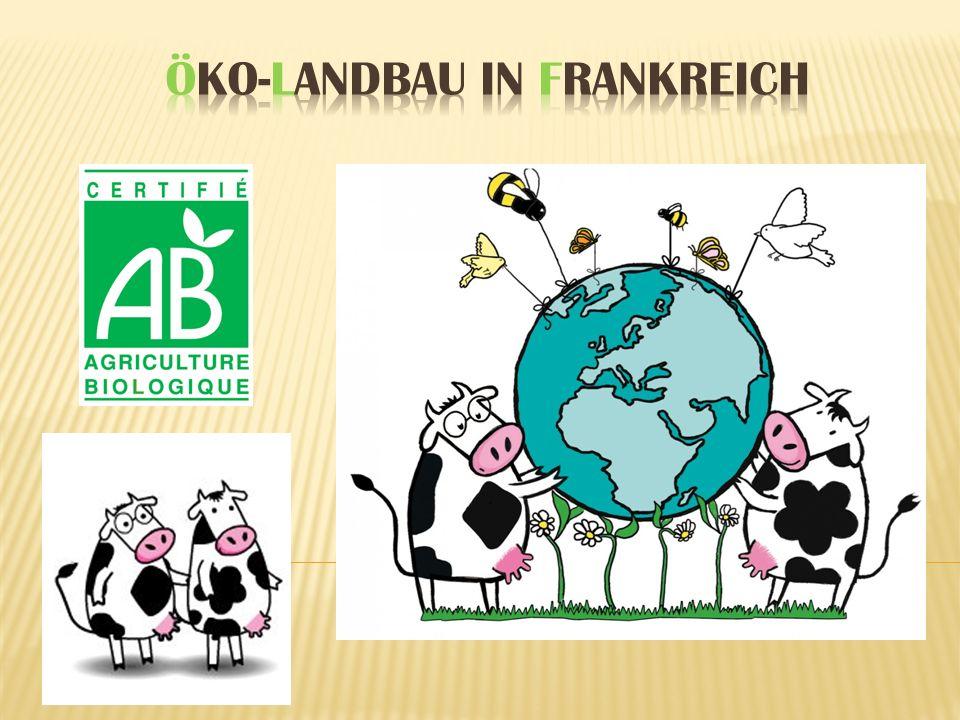 Öko-Landbau in Frankreich