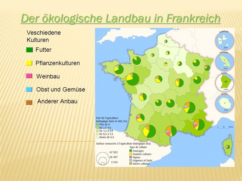 Der ökologische Landbau in Frankreich