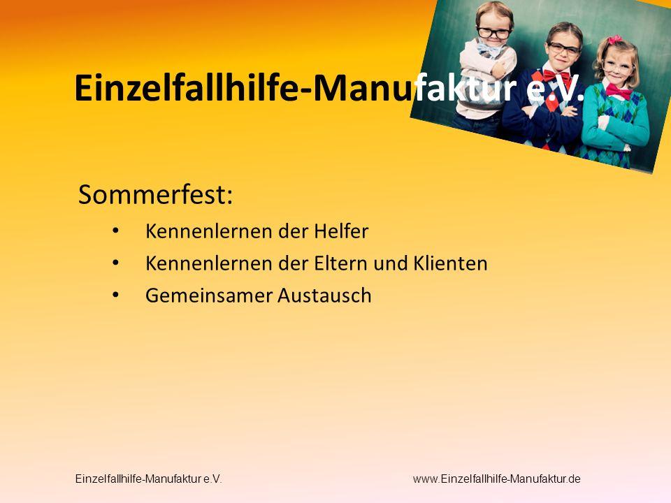 Einzelfallhilfe-Manufaktur e.V.