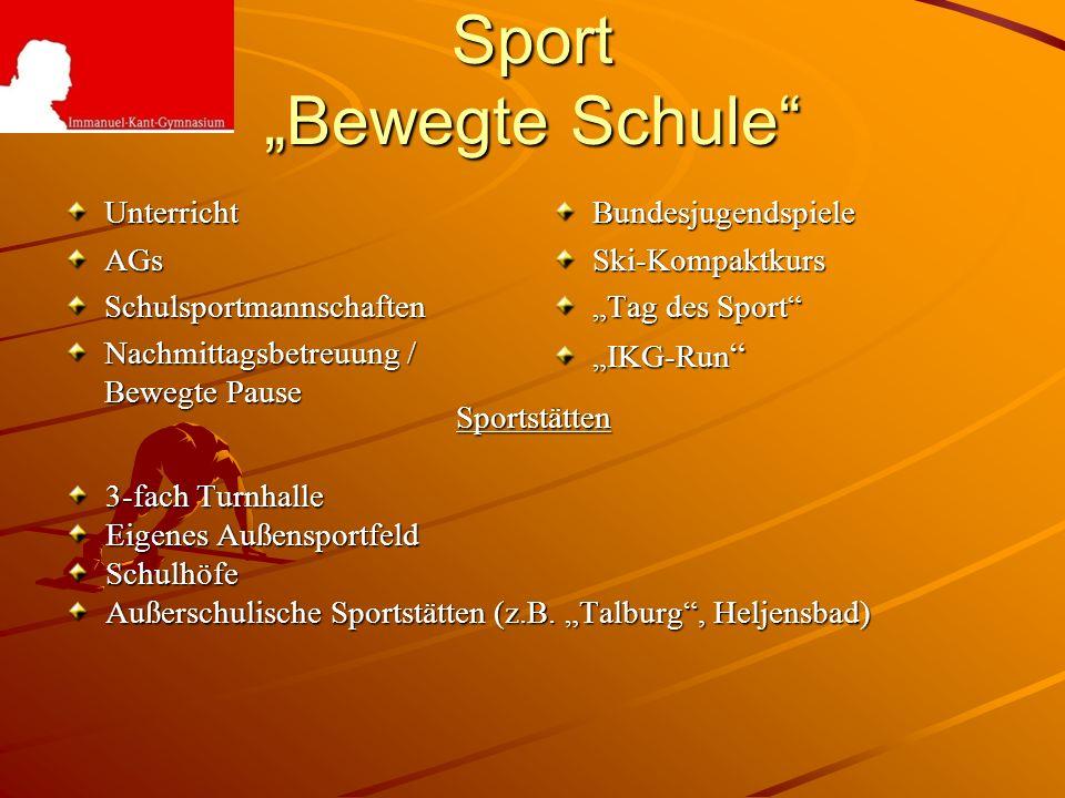 "Sport ""Bewegte Schule"